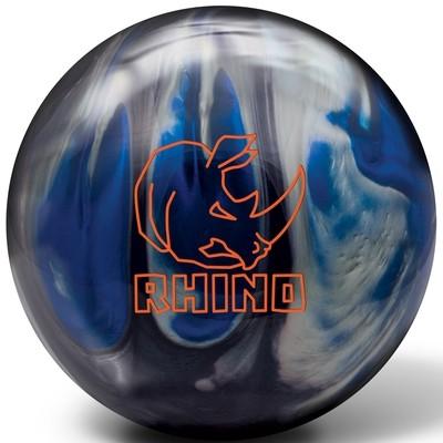 Brunswick Rhino Black/Blue/Silver Bowling Ball
