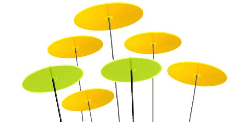 SIETE 5 dischi gialli e 2 dischi verdi