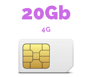ONLY SIM 20 GB
