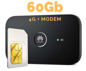WIFI MODEM MIFI 60 GB
