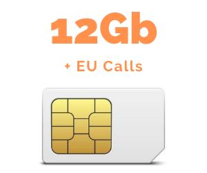 Mobile SIM 12GB