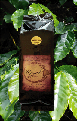 12 oz. Royal Islander Coffee-Whole Bean-Medium Roast