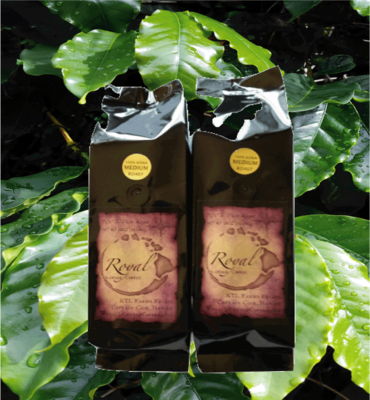 SALE!  Two 1 Lb. Bags-Royal Islander Coffee-Dark Roast
