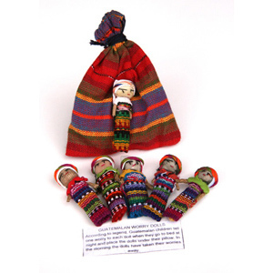 Set of Large Worry Dolls-FREE SHIPPING
