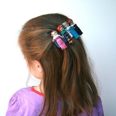Worry Doll Hair Clip- FREE SHIPPING