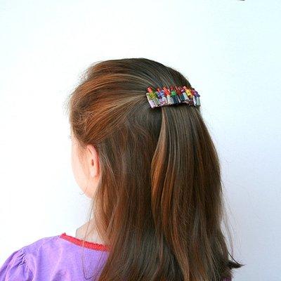 Worry Doll Hair Clip Mini- FREE SHIPPING