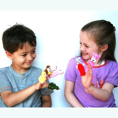 Finger Puppets Set of 4- FREE SHIPPING