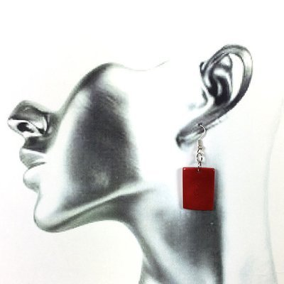 Tagua Earrings- FREE SHIPPING