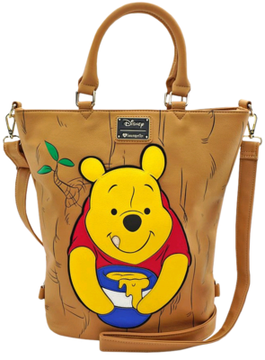 """PRE-ORDER Winnie the Pooh - Pooh in Tree 20"""" Faux Leather Tote Bag"""