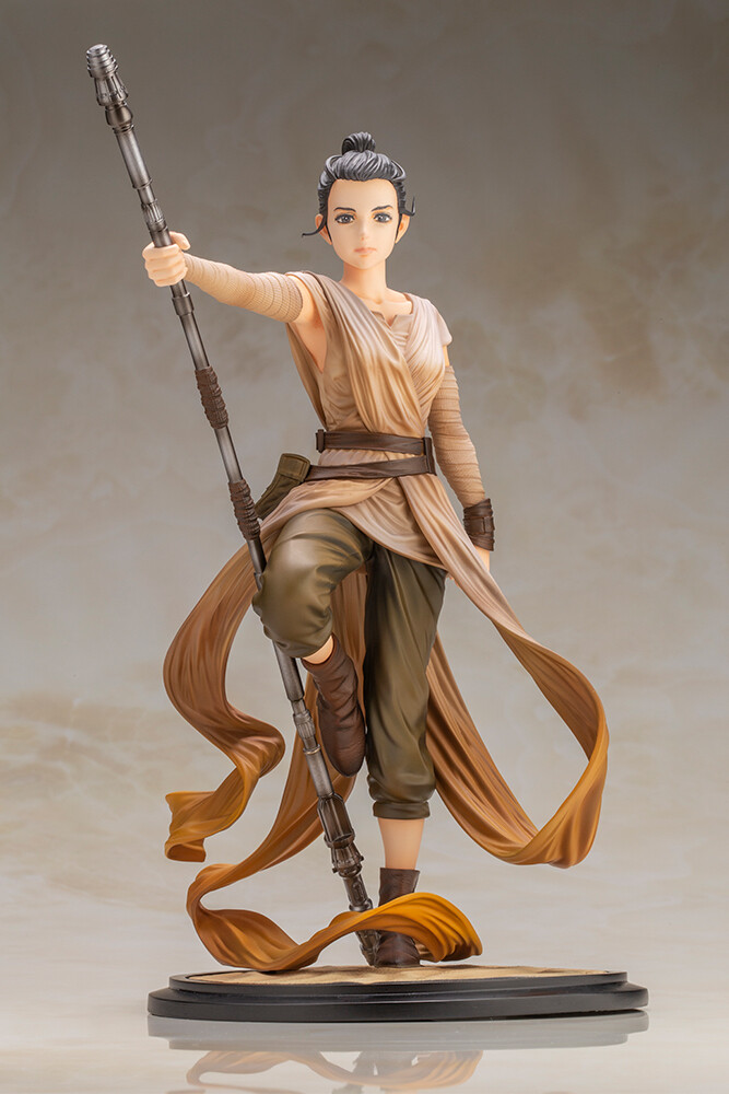 PRE-ORDER STAR WARS Artist Series Rey Descendant of Light ARTFX