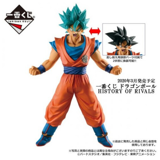 PRE-ORDER Ichiban DB History of Rivals Son Goku