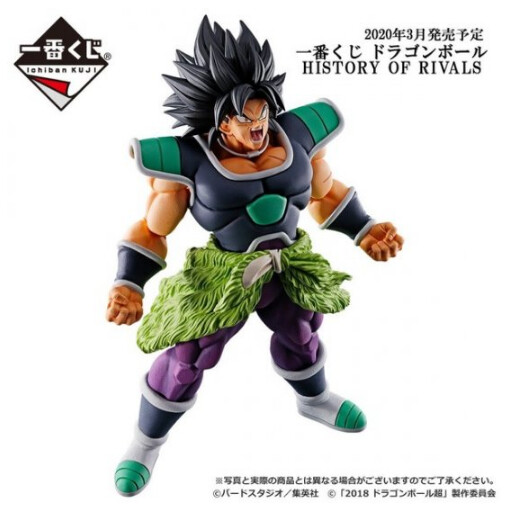 PRE-ORDER Ichiban DB History of Rivals Broly Angry