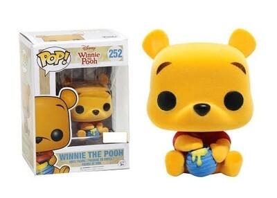 Disney: Winnie the Pooh - Seated Pooh Flocked Pop! Vinyl Figure