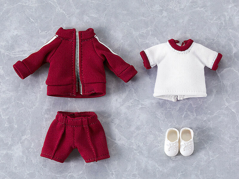 PRE-ORDER Nendoroid Doll: Outfit Set (Gym Clothes - Red)