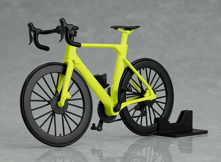 PRE-ORDER figma+PLAMAX Road Bike (Lime Green)