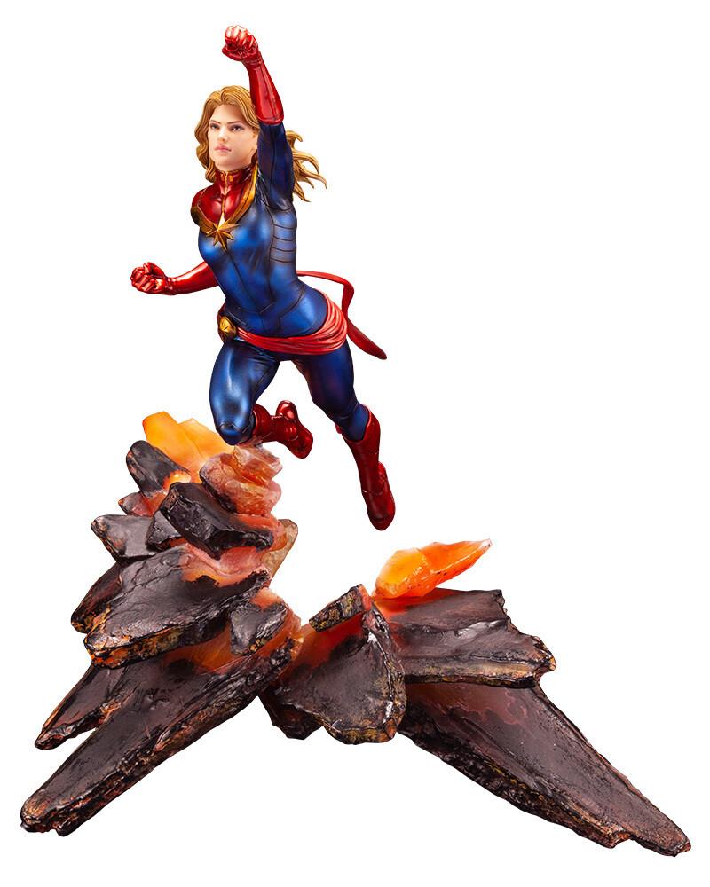 PRE-ORDER Captain Marvel ArtFX Premier Statue
