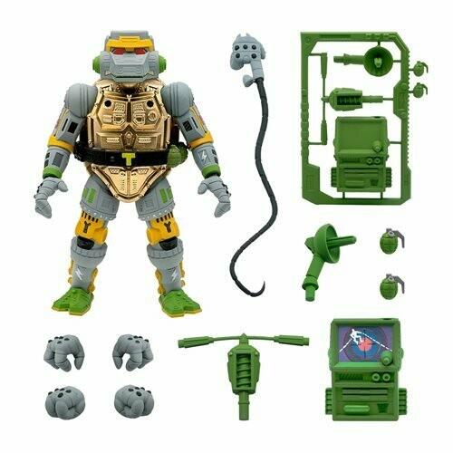 PRE-ORDER Teenage Mutant Ninja Turtles Ultimates Metalhead 7-Inch Action Figure