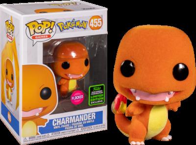 Pokemon Charmander Flocked Spring Convention 2020 Exclusive Pop! Vinyl Figure