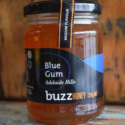 Blue Gum Honey 320g Glass Jar