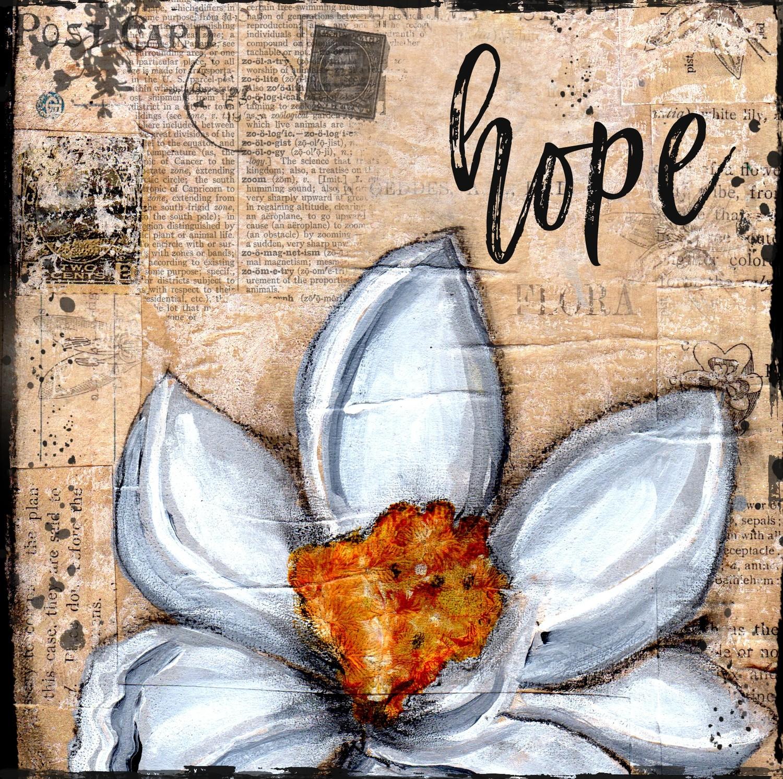 """""""Hope"""" magnolia 4x4 Clearance"""