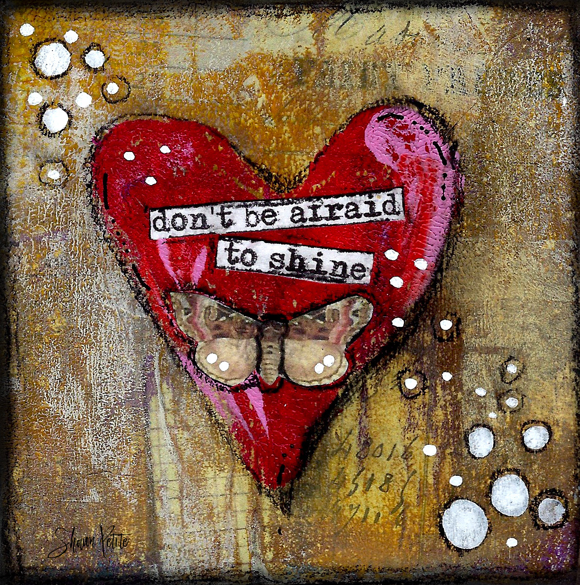 "Giving hearts ""Don't be afraid to Shine"" 4x4 clearance"