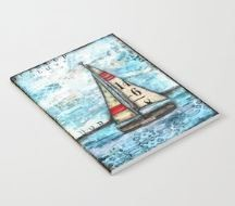 """Notebook """"Discovery Sail Boat"""""""