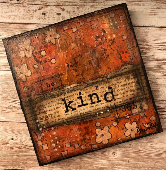 """Kind"" 6x6 Clearance Original"