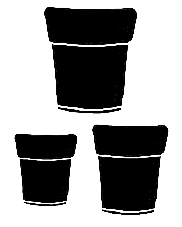 Terra Cotta Pots stencil