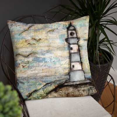 Lighthouse Basic Pillow
