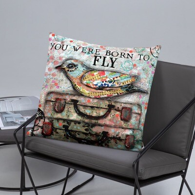 You were born to Fly Basic Pillow