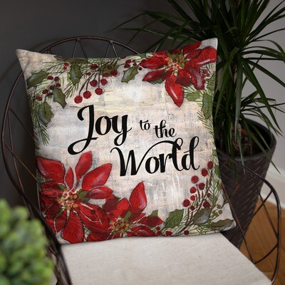 Joy to the World Basic Pillow