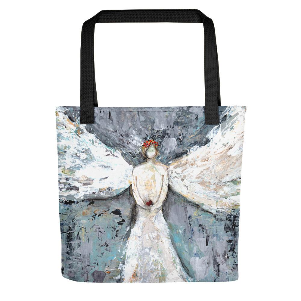 Angel Guiding Tote bag