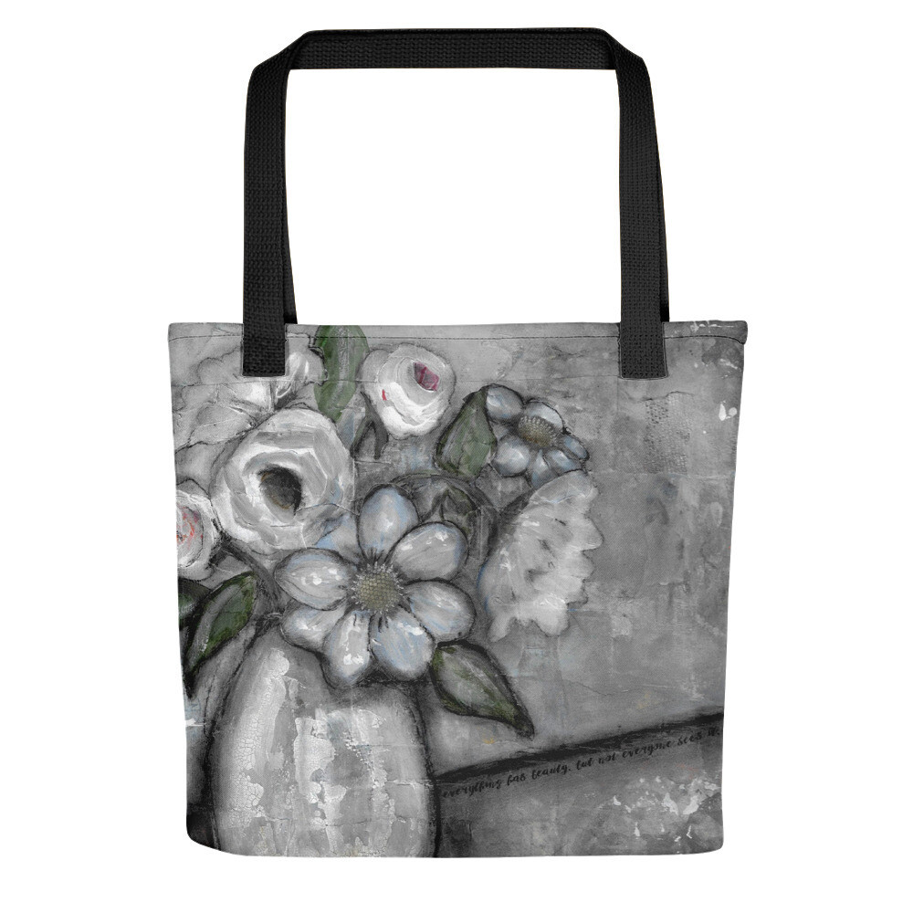 Everything has Beauty Tote bag