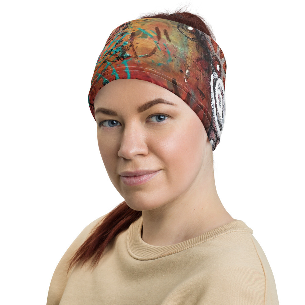 Abstract Head Wrap/Neck Gaiter