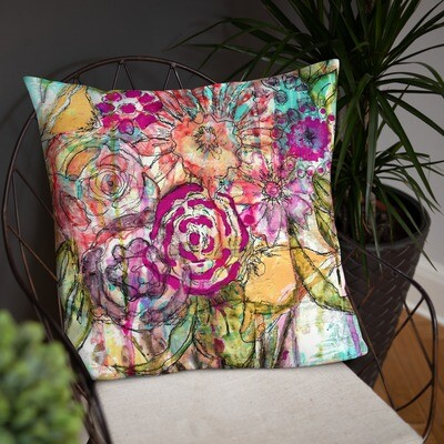 Floral Basic Pillow