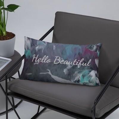 Hello Beautiful Basic Pillow
