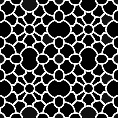 Modern Pattern 1 12x12 stencil