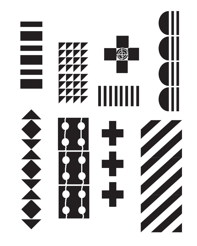 Pattern 1 Stencil