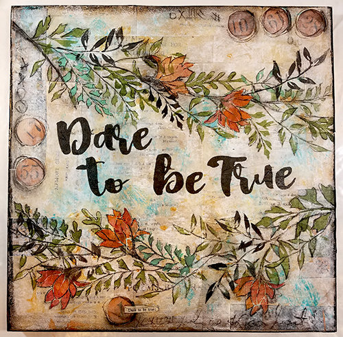 Dare to be True collage pak for Sunday Inspiration 9-17-17 instant download 8 pages