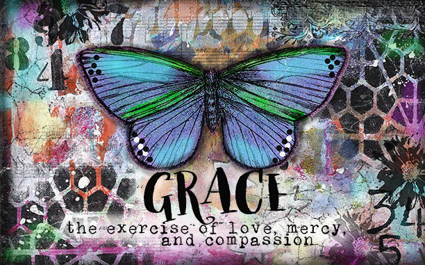 """""""Grace the exercise of Love"""" Print on Wood and Print to be Framed"""