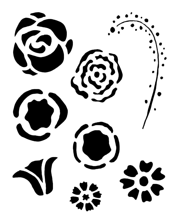 Flower Gang 2003 Stencil