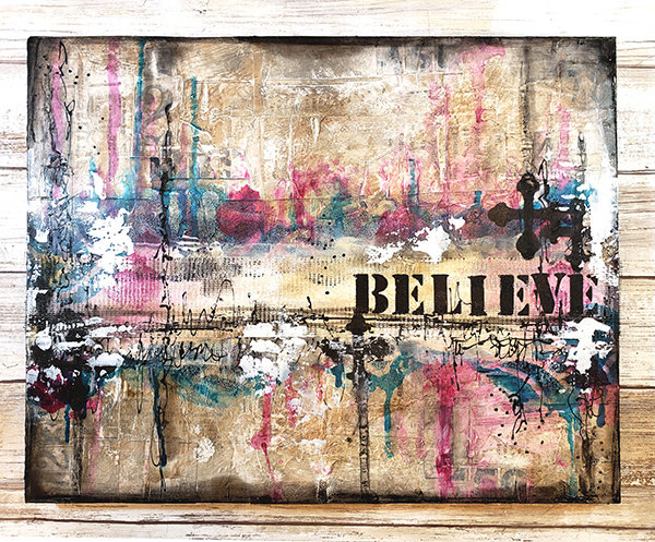 """""""Believe"""" Print on wood or Print to be Framed"""