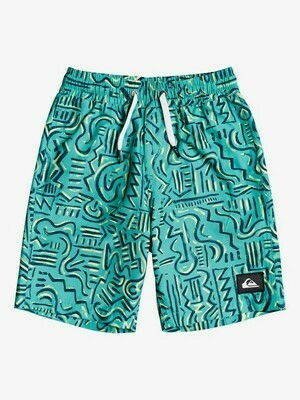 Quiksilver Tropical Brush Volley Youth 2T-7