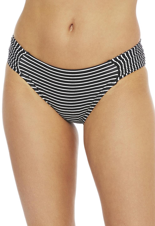 La Blanca Pinstripe Side Shirred Pant