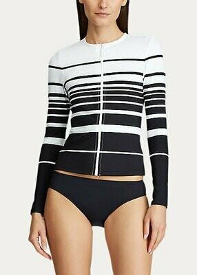 Lauren Gradient Stripe Long Sleeve Rashguard