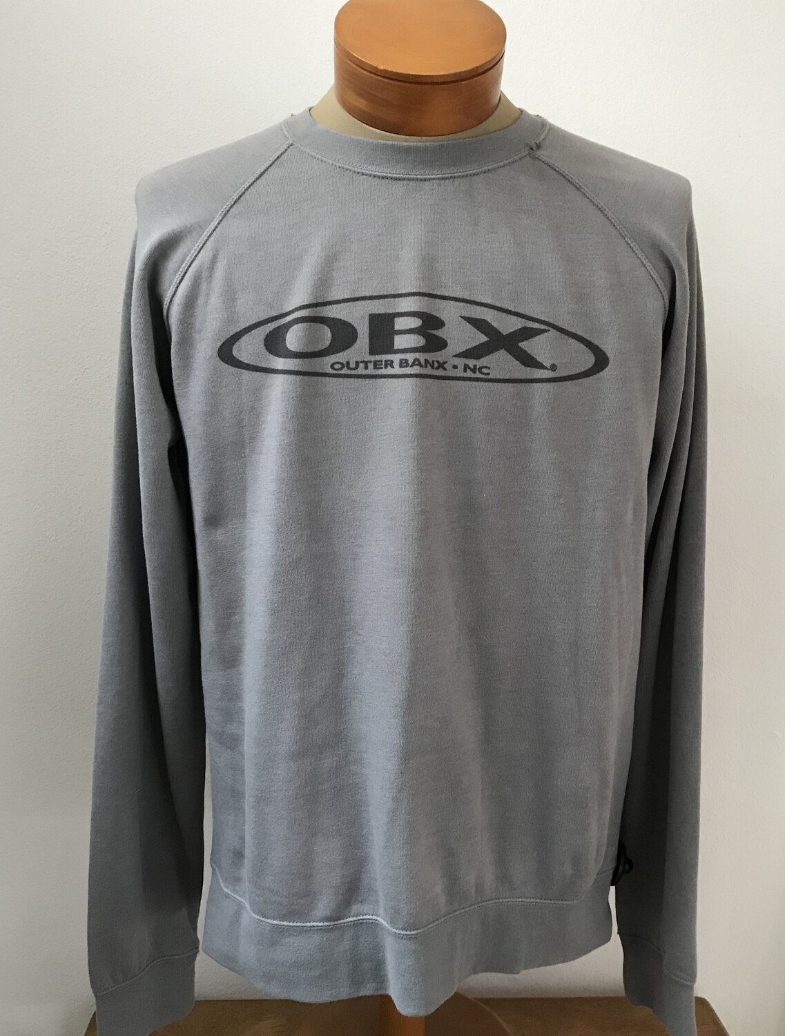 OBX Suede Crew Long Sleeve Sweatshirt - two colors!