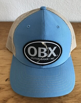 OBX Map Mesh Back Twill Front Hat -more colors!