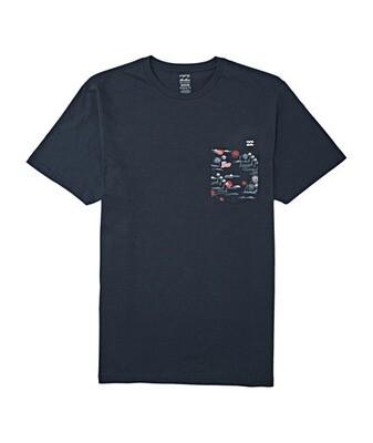Billabong Team Pocket Short Sleeve T-Shirt
