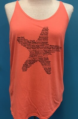 OBX Starfish Towns Slouchy Tank