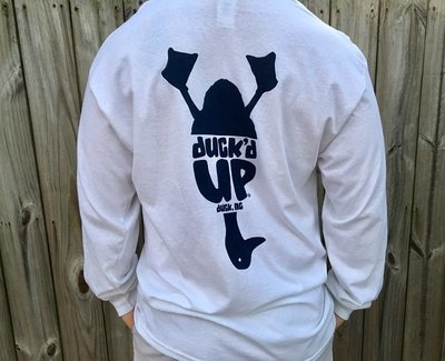 Duck'd Up Long Sleeve Tee -more colors!